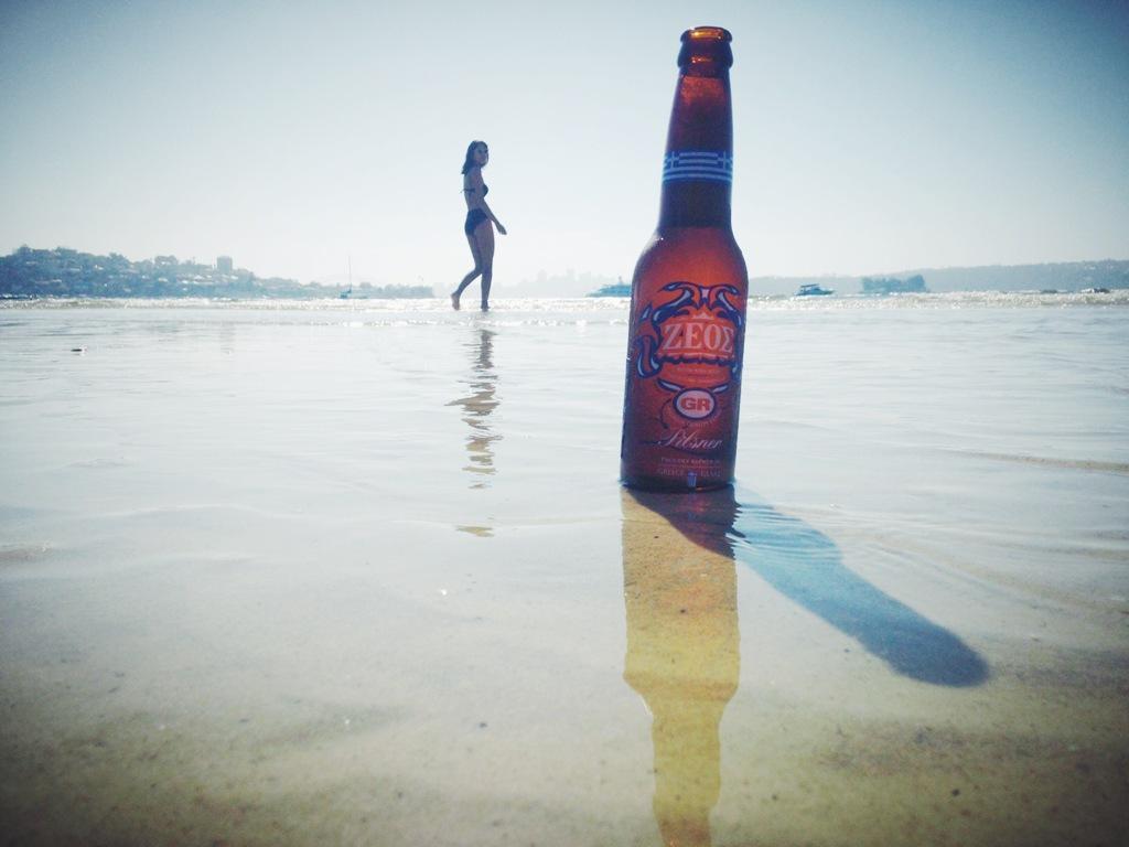 Zeos Pilsner Beer - in Australia
