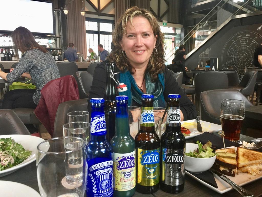 Zeos Greek Beers - in Vancouver Canada