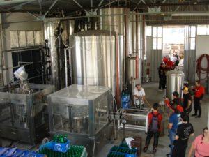 Zeos Brewery - tanks