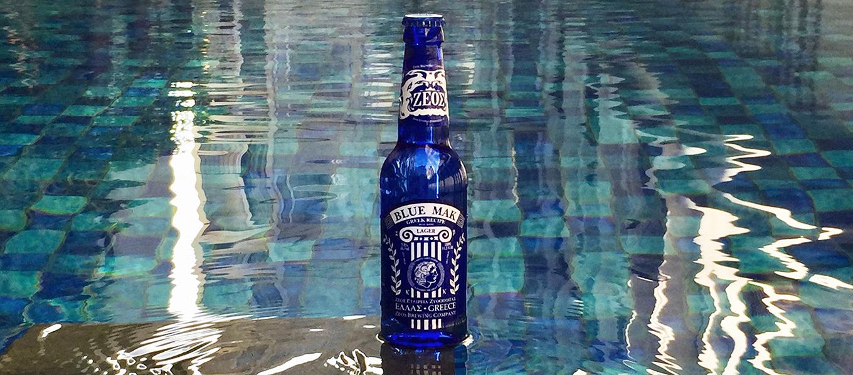 Zeos Blue Lager Greek Beer
